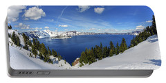 Beautiful Crater Lake Portable Battery Charger