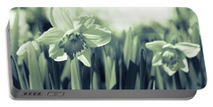 Beautiful Daffodil Portable Battery Charger