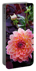 Beautiful Dahlia Portable Battery Charger