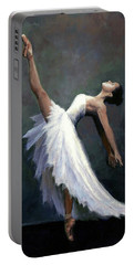 Beautiful Dancer Portable Battery Charger by Janet King
