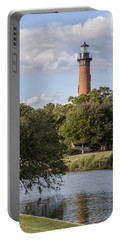 Beautiful Day At Currituck Beach Lighthouse Portable Battery Charger