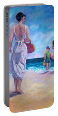 Beautiful Day At The Beach Portable Battery Charger