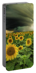 Portable Battery Charger featuring the photograph Beautiful Destruction  by Aaron J Groen