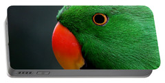 Beautiful Eclectus Parrot Portable Battery Charger