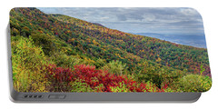 Portable Battery Charger featuring the photograph Beautiful Fall Foliage In The Blue Ridge Mountains by Lori Coleman
