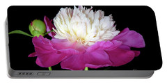 Beautiful Fancy Peony Portable Battery Charger