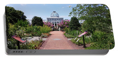 Portable Battery Charger featuring the photograph Beautiful Garden by Liza Eckardt