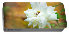 Beautiful Gardenia Portable Battery Charger