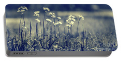 Beautiful Gentle Wildflowers Portable Battery Charger