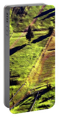 Beautiful Hillside Painting Portable Battery Charger
