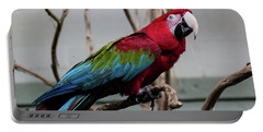 Beautiful Macaw Portable Battery Charger