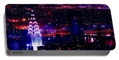 Beautiful Manhattan Skyline Portable Battery Charger