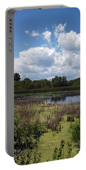 Beautiful Marsh View Portable Battery Charger