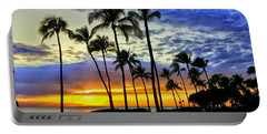 Beautiful Maui Hawaii Sunset Portable Battery Charger