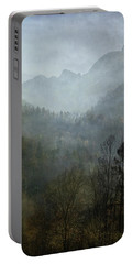 Beautiful Mist Portable Battery Charger by AugenWerk Susann Serfezi