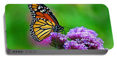 Portable Battery Charger featuring the photograph Beautiful Monarch by Rodney Campbell