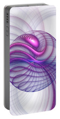 Beautiful Movements Fractal Art Portable Battery Charger