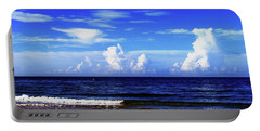 Portable Battery Charger featuring the photograph Beautiful Ocean View by Gary Wonning