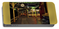 Portable Battery Charger featuring the photograph Beautiful Old Albury Station By Kaye Menner by Kaye Menner