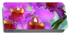 Beautiful Orchids  Portable Battery Charger