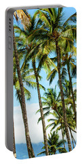 Portable Battery Charger featuring the photograph Beautiful Palms Of Maui 16 by Micah May