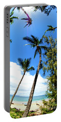 Portable Battery Charger featuring the photograph Beautiful Palms Of Maui 17 by Micah May