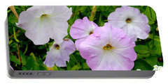 Beautiful Petunia Flower 1 Portable Battery Charger