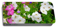 Beautiful Petunia Flower 5 Portable Battery Charger