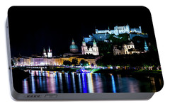Portable Battery Charger featuring the photograph Beautiful Salzburg by David Morefield