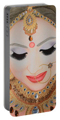 Beautiful Sikh Bride Portable Battery Charger