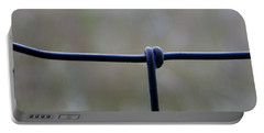 Portable Battery Charger featuring the photograph Beautiful Single Knot by Tina M Wenger