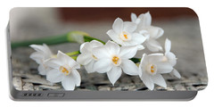 Beautiful Spring Paperwhites Portable Battery Charger
