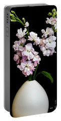 Beautiful Stock Flowers Portable Battery Charger