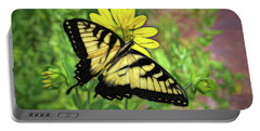 Beautiful Swallowtail Butterfly Portable Battery Charger