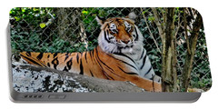 Beautiful Tiger Portable Battery Charger