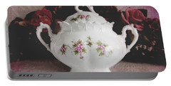 Portable Battery Charger featuring the photograph Beautiful Victorian Bowl  by Trina Ansel