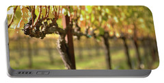 Beautiful Vineyard In Napa Valley Portable Battery Charger