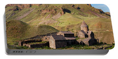 Beautiful Vorotnavank Monastery At Evening, Armenia Portable Battery Charger