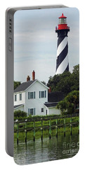 Beautiful Waterfront Lighthouse Portable Battery Charger