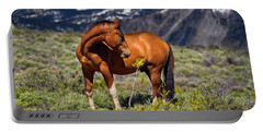 Beautiful Wild Mustang Horse Portable Battery Charger