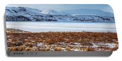 Beautiful Winter Landscape Portable Battery Charger