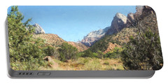 Beautiful Zion Portable Battery Charger