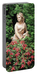 Portable Battery Charger featuring the photograph Beauty Among The Flowers by Betty Denise