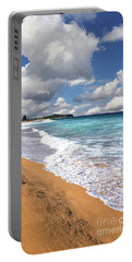 Beauty And The Beach By Kaye Menner Portable Battery Charger