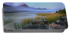 Portable Battery Charger featuring the photograph Beauty Creek Dawn by Dan Jurak