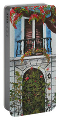 Beauty In Old San Juan Portable Battery Charger