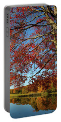 Portable Battery Charger featuring the photograph Beauty Of Fall by Karol Livote