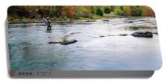Beaver's Bend Fly Fishing Portable Battery Charger