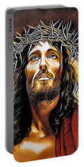 Because He Loves You Portable Battery Charger