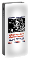 Become A Naval Officer Portable Battery Charger